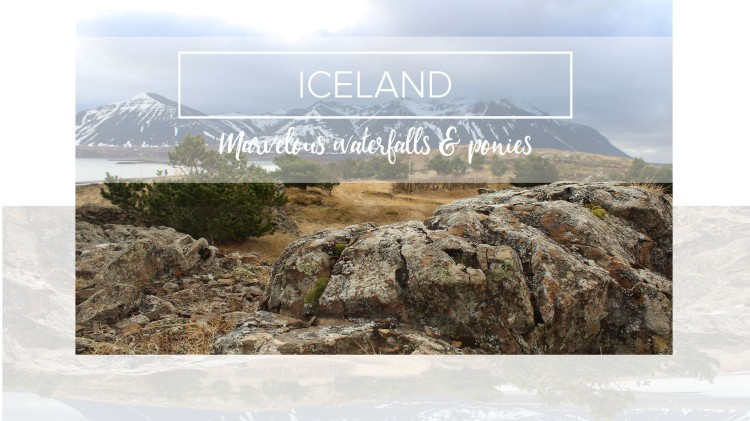 Iceland landscape near Borganes.