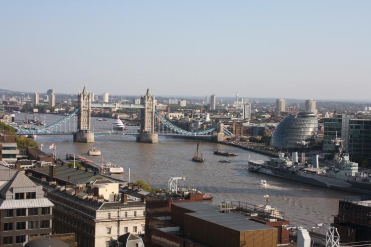 London Bridge and City Hall.